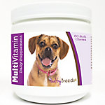 Healthy Breeds Puggle Multi-Vitamin Soft Chews, Pack of 60