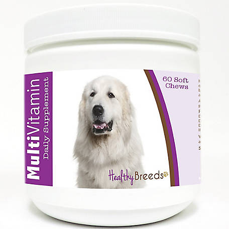 Healthy Breeds Great Pyrenees Multi-Vitamin Soft Chews, Pack of 60