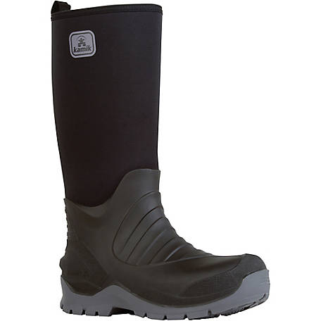 91b0ad8ae2d Kamik Men's Bushman Insulated Rubber Work Boot at Tractor Supply Co.