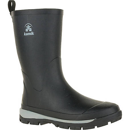 Kamik Men's Lars Waterproof Rubber Boot