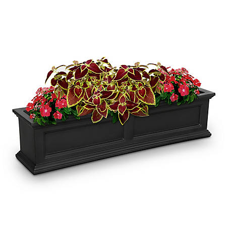 Mayne Fairfield Window Box, 4 Ft.