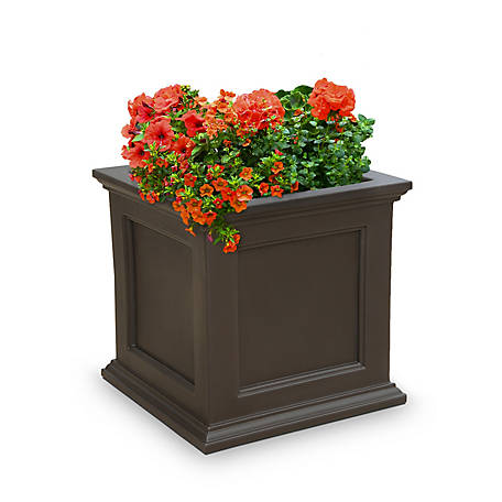 Mayne Fairfield Patio Planter, 20 in. x 20 in., 5825-ES at ... on