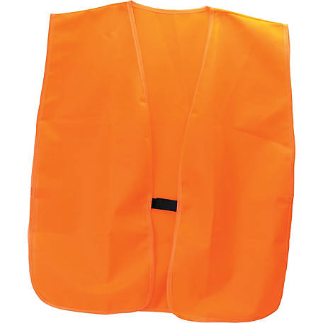 HME Products HME-VEST-OR Safety Vest, Orange