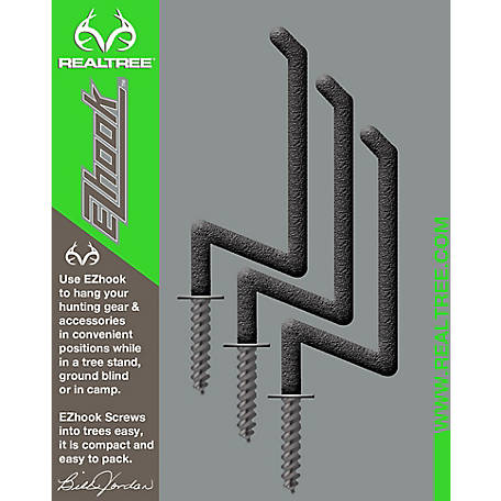 Realtree EZ Hooks, Pack of 3, 9997NC
