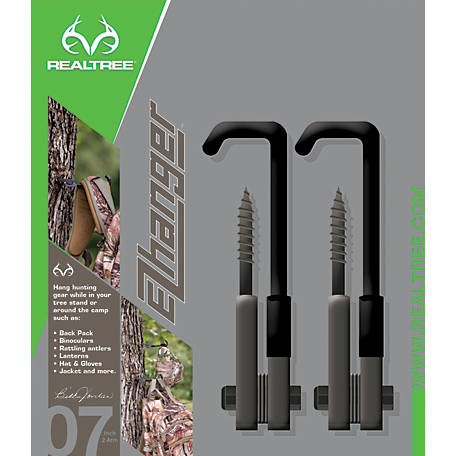 Realtree 7 in. EZ Hangers, Pack of 2, 9996NC