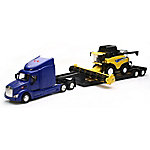New-Ray 1:24 B/O Peterbilt with New Holland Harvester