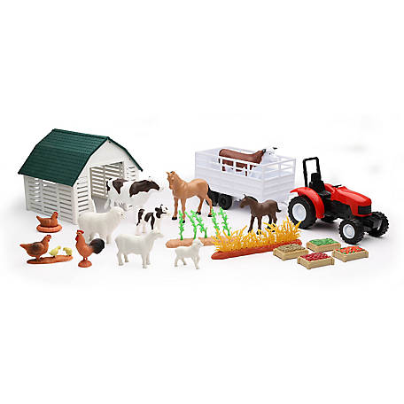 New-Ray Country Life Farm Animals Deluxe Set, 4109