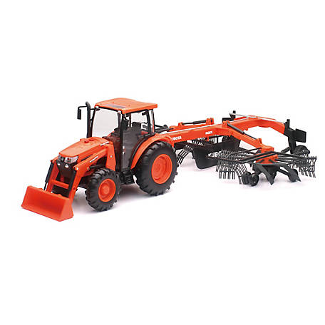 Kubota 1:18 Scale M5-111 with Rake, SS-33043