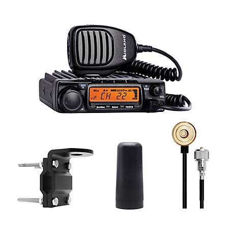 Midland MicroMobile MXT400 MicroMobile 2-Way Radio Bundle