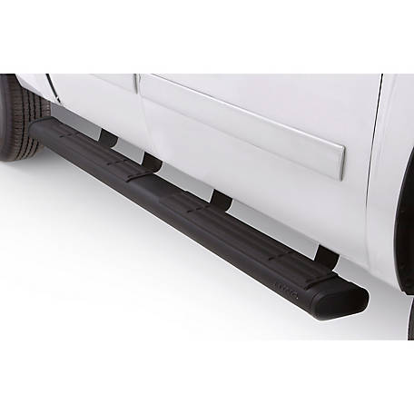 Lund 6 in. Oval Straight Black Nerf Bar, 2004-2014 Ford F-150, 22268037