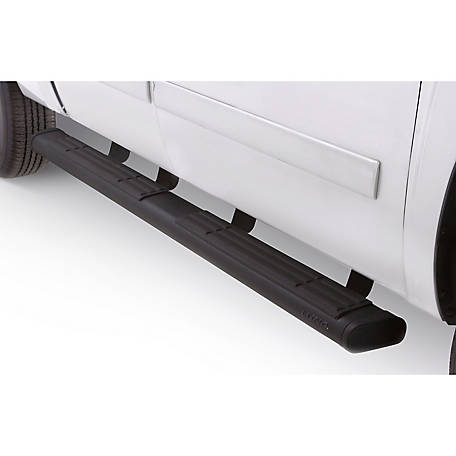Lund 6 in. Oval Straight Black Nerf Bar, 2015-2018 Ford F-150, 22268052