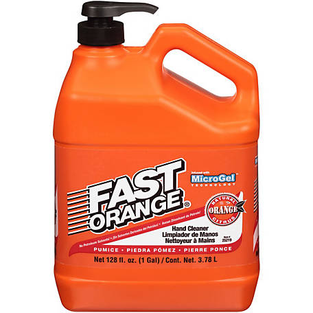 Fast Orange Hand Cleaner with Pumice, 25219