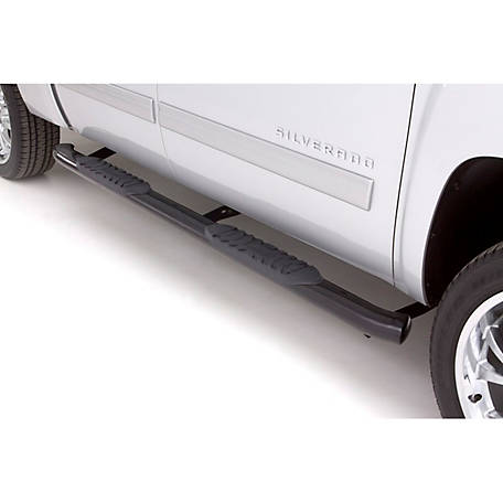 Lund 5 in. Oval Curved Steel Nerf Bar, 2015-2018 Ford F-150, 23879008