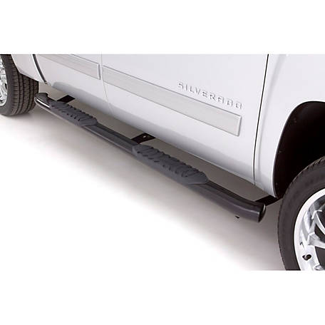 Lund 5 in  Oval Curved Steel Nerf Bar, 2004-2018 Nissan Titan, 23886008 at  Tractor Supply Co