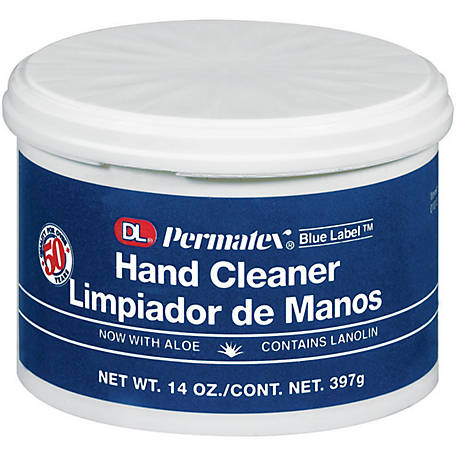 Permatex Blue Label Hand Cleaner, 14 oz.