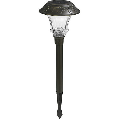 Duracell Metal Solar Pathway Light, Pack of 4