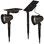 Duracell 60L Cast Metal Solar Spot Light