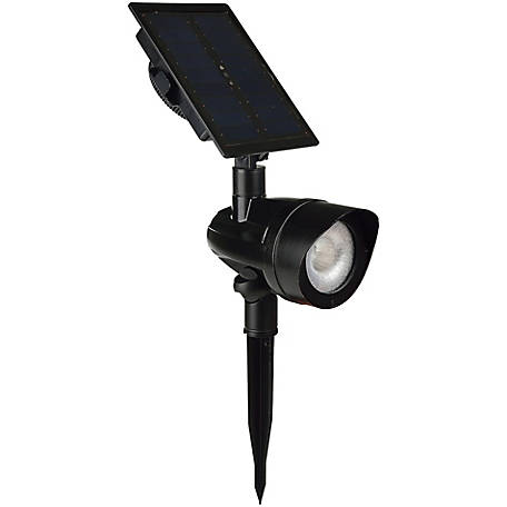 Duracell 100L Cast Metal Solar Spot Light