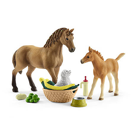 Schleich Sara's Baby Animal Care, 42432