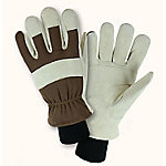 West Chester Men's Large Water Resistant Cowhide Split Leather Palm Gloves