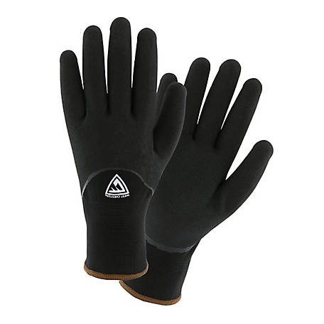 West Chester Men's Large Water Resistant Foam Nitrile Gloves