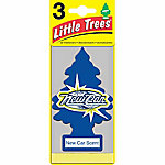 Little Trees Automotive Air Freshener, New Car Scent, Pack of 3