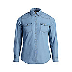 Bit & Bridle Women's Long Sleeve Western Denim Shirt