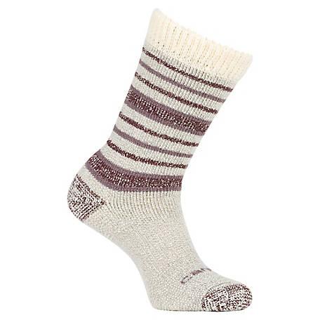 da22b6ae0e107 Carhartt Women's Heavyweight Wool Sherpa Cuff Knee High Socks at ...