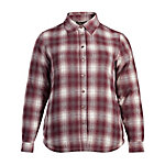 Bit & Bridle Women's Long Sleeve Sherpa-Lined Flannel Shirt-Jac