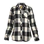 Blue Mountain Women's Long Sleeve Flannel Shirt