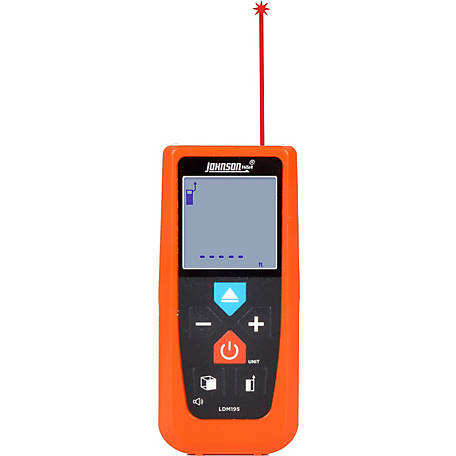 Johnson Level 195 ft. Laser Distance Meter with Angle Sensor