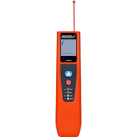 Johnson Level 100 ft. Laser Distance Meter