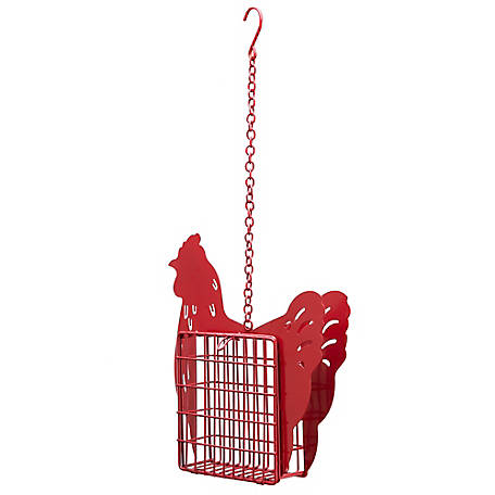 Royal Wing Rooster Suet Bird Feeder, 171215A
