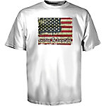 Tractor Supply Co. Women's Americana Shiplap Flag Graphic T-Shirt
