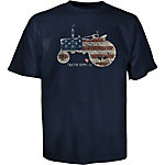 Tractor Supply Co. Kid's Americana Heritage Tractor Flag Graphic T-Shirt