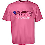 TSC Toddler Girl's Americana Old Glory Piglet T-Shirt