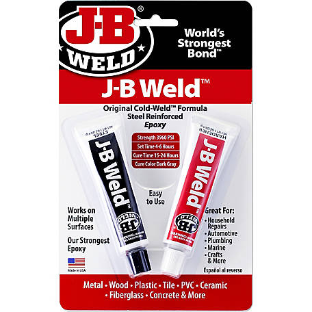 J-B Weld Original, 1 oz.., Pack of 2