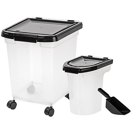 IRIS USA 3-Piece Airtight Food Container Combo