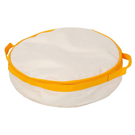 IRIS USA 586210 Travel Litter Pan, Yellow, 12.0 x 11.0 x 2.0 in.