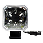 Traveller 3.75 in. 30W Square Off Road Light