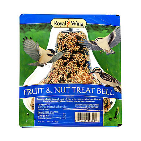 Royal Wing Nut Fruit Treat Bell