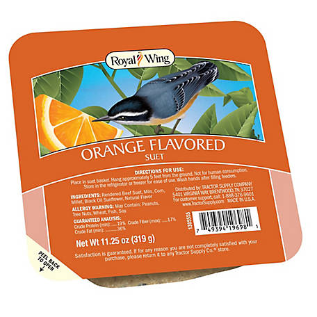 Royal Wing Orange Flavored Suet