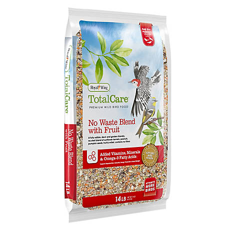 Royal Wing Total Care No Waste Blend with Fruit, 14 lb.