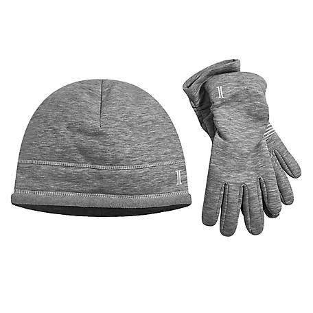Igloo Fleece Beanie Glove Set, LH121-STCH-TS