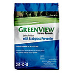 GreenView Fairway Formula Spring Fertilizer with Crabgrass Preventer, 17 lb.
