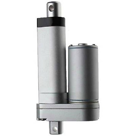 Concentric 12V DC Linear Actuator, 5.9 in. Stroke, 11.69 in. Retract, 17.6 in. Extend, Acme Drive