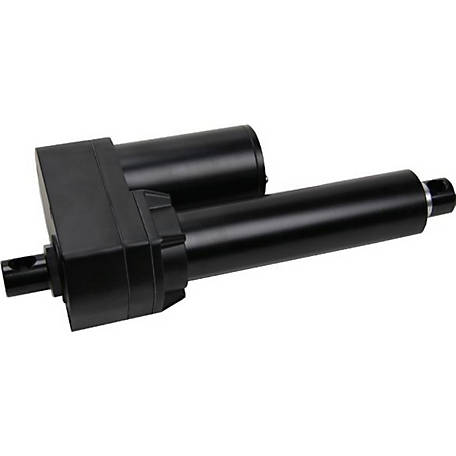 Concentric 12V DC Linear Actuator, 6.03 in. Stroke, 12.24 in. Retract, 18.27 in. Extend, Acme Drive