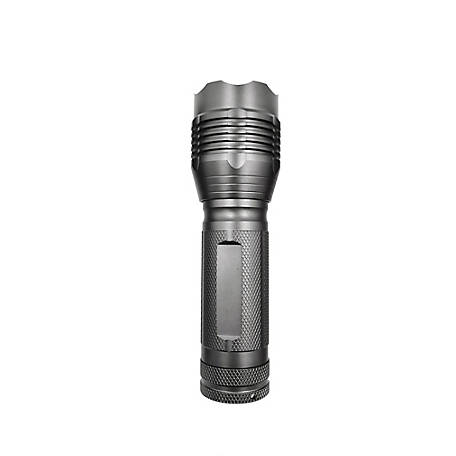 JobSmart 500 Lumen Gray Aluminum Flashlight