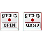 Red Shed Open/Closed Kitchen Sign
