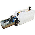 SPX Hydraulic Power Unit (12V DC, Single Acting), 1.4 GPM, 3/8 in. NPT Ports, 2000 PSI, 10 qt. Tank